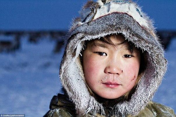 Основное население здесь эскимосы, та
